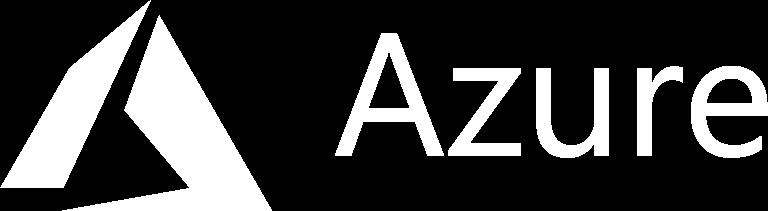Microsoft Azure Logo in White