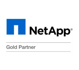 NetApp Gold Logo