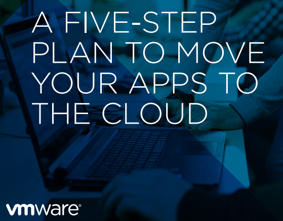 five step vmware plan front cover