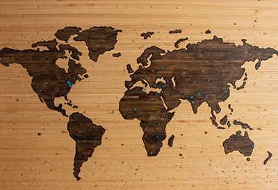 global wooden board